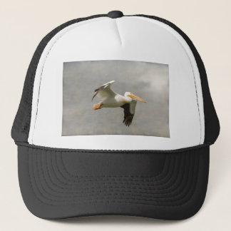 Pelican In Flight Trucker Hat