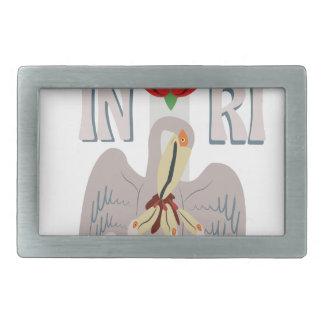 Pelican INRI Belt Buckle