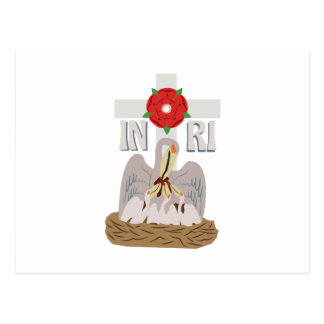 Pelican INRI Postcard