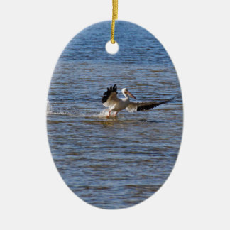 Pelican Landing Ceramic Ornament