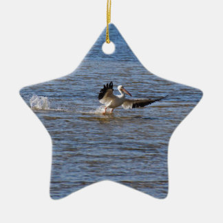 Pelican Landing Ceramic Ornament