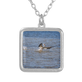 Pelican Landing Silver Plated Necklace