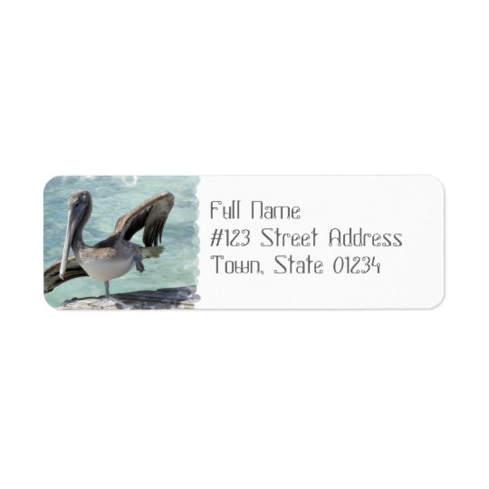 Pelican Mailing Labels
