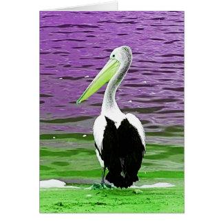 Pelican note card