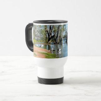 Pelican Oasis Berri Riverland Australia, Travel Mug