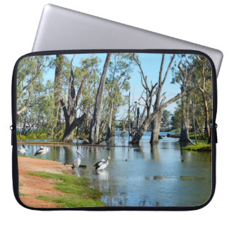 Pelican Oasis Berri Riverland South Australia, Laptop Sleeve