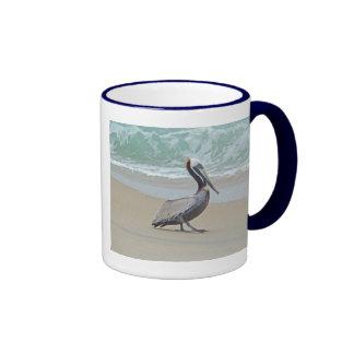 Pelican on Outer Banks OBX NC Mug