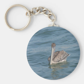 Pelican on the Inter-Coastal Keychain
