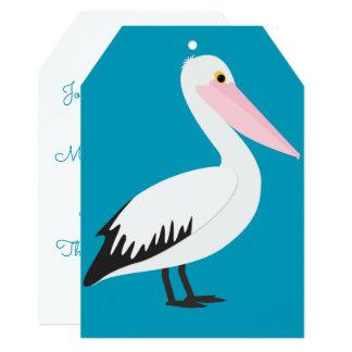 Pelican pattern card