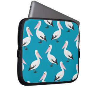 Pelican pattern computer sleeve
