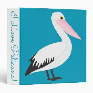 Pelican pattern vinyl binders