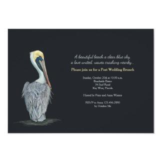 Pelican Post Wedding Brunch Invitation
