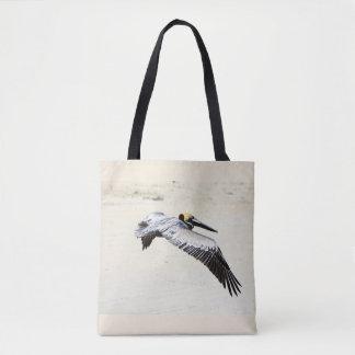 Pelican Printed Tote Bag