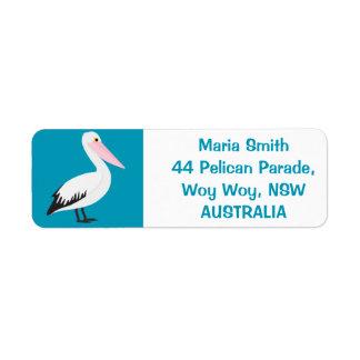 Pelican Return Address Label