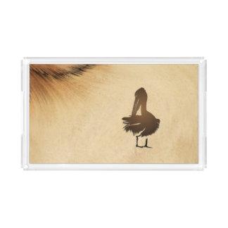 Pelican Rustic Acrylic Tray