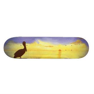 Pelican Silhouette Skateboard