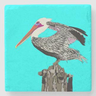 Pelican Stone Coaster