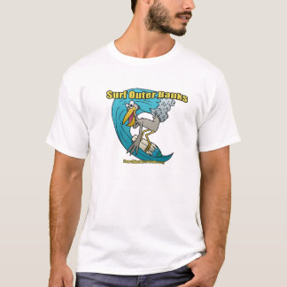 Pelican Surfing on a wave T-Shirt