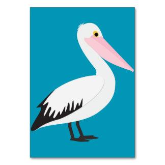Pelican Table Card
