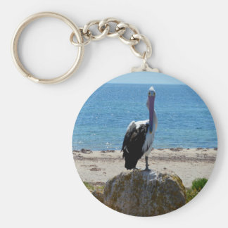 Pelican_The_Look,_ Basic Round Button Keychain