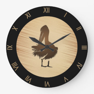 Pelican Wall Clock Roman Numerals