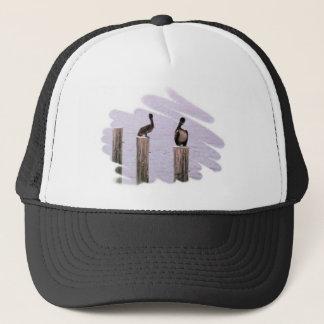 Pelicans 2 trucker hat