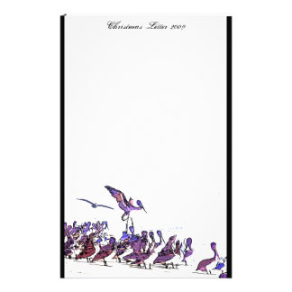 Pelicans Beach Christmas Letter 2009 Stationery