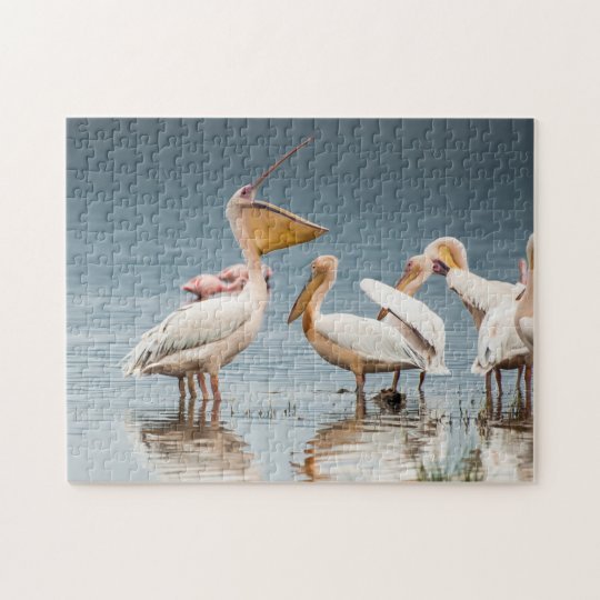 Pelicans by the Lake Puzzle