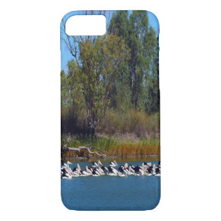 Pelicans,_Fishing_Frenzy,_iPhone_Six_Case. iPhone 7 Case