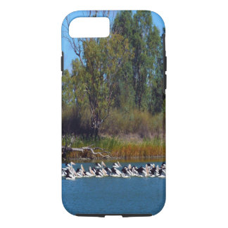 Pelicans,_Fishing_Frenzy,_Tough_iPhone_Six_Case. iPhone 7 Case