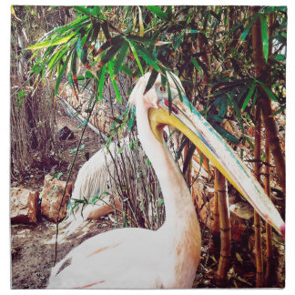 pelicans napkin