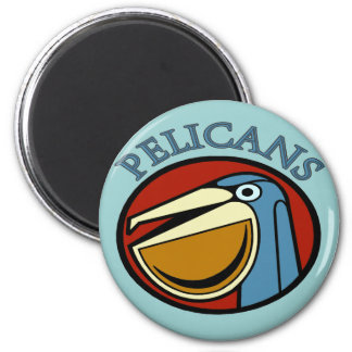 Pelicans Sports teams Magnet