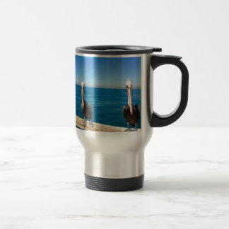Pelicans Travel Mug