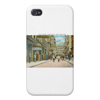 Pell Street (CHINATOWN), New York City (Vintage) iPhone 4/4S Cases