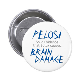 Pelosi 2 Inch Round Button