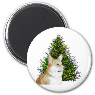 PEM WITH CHRISTMAS TREE MAGNET