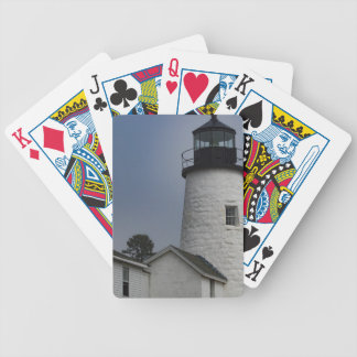 Pemaquid Lighthouse Bicycle Playing Cards