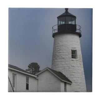 Pemaquid Lighthouse Ceramic Tile