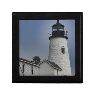 Pemaquid Lighthouse Jewelry Box