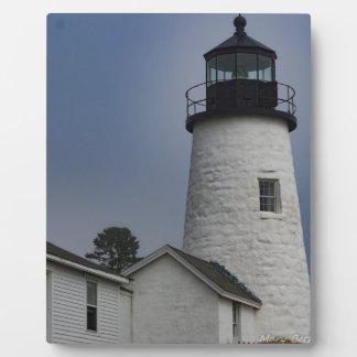 Pemaquid Lighthouse Plaque