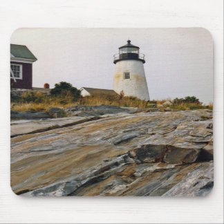 Pemaquid Point Light Mousepad