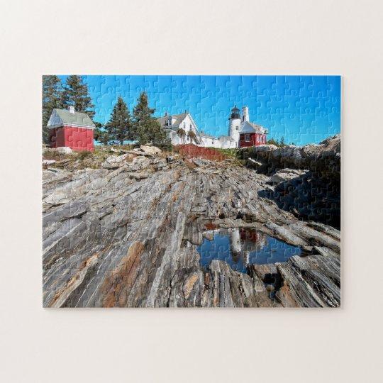 Pemaquid Point Lighthouse, Bristol Maine Jigsaw Puzzle