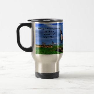 Pemaquid Point lighthouse-Coffee Mug