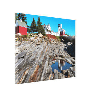 Pemaquid Point Lighthouse, Maine Canvas Print