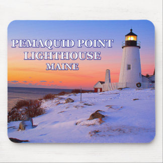 Pemaquid Point Lighthouse, Maine Mouse Pad
