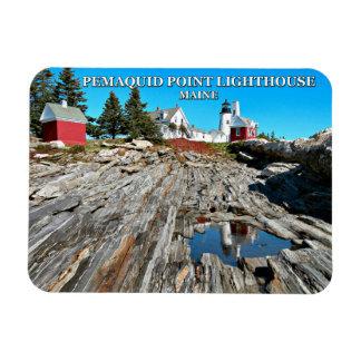 Pemaquid Point Lighthouse, Maine Rectangular Photo Magnet
