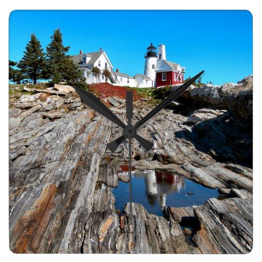 Pemaquid Point Lighthouse, Maine Wallclock