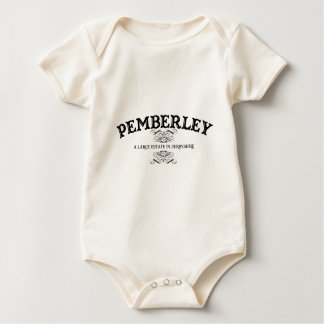 Pemberley A Large Estate In Derbyshire Baby Bodysuit