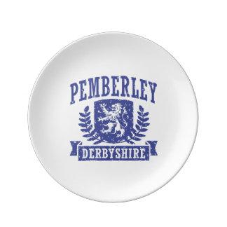 Pemberley Derbyshire Plate