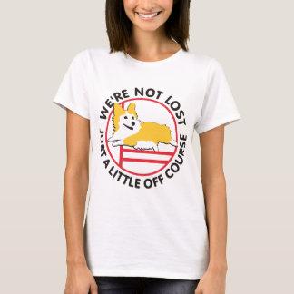 Pembroke Corgi Agility Off Course T-Shirt